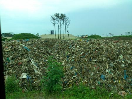 震災廃棄物処理施設