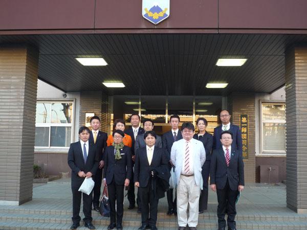 青年委員会北関東ブロック視察参加者