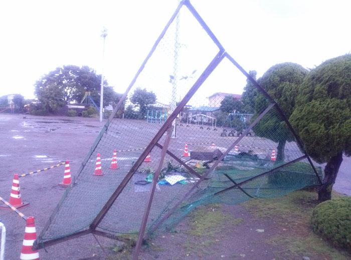矢板市内の被害状況