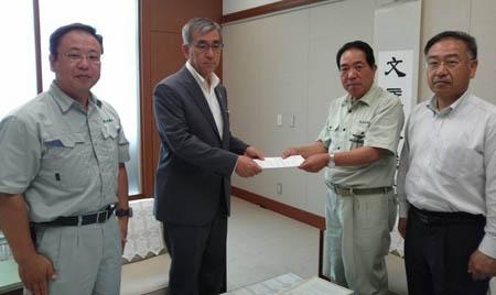 栃木県へ要望書の提出