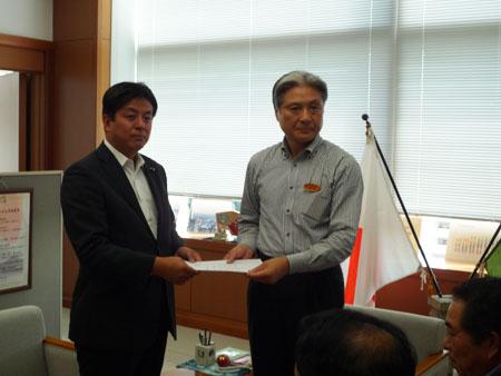 栃木県への要望書の提出